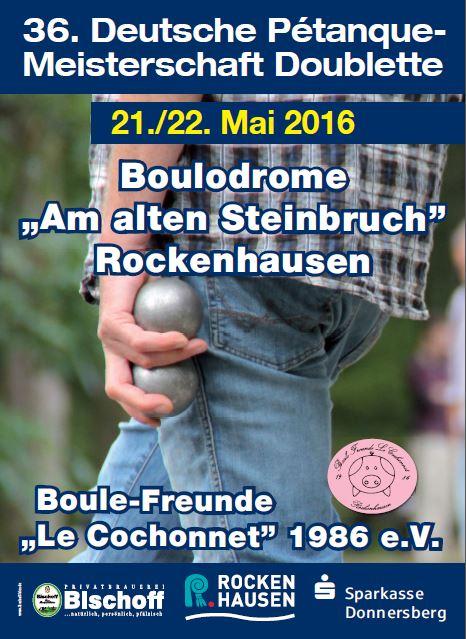 Deutsche Meisterschaft Doublette 2016